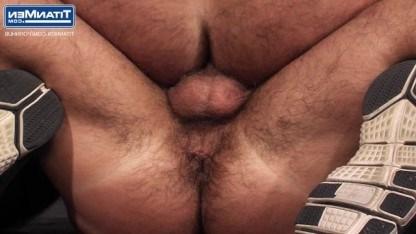 Зрелый гей Дирк Кабер сосал хуй у качка и трахал его в жопу с азартом
